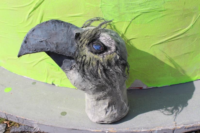 Erste Kunstwerke aus demKinderland