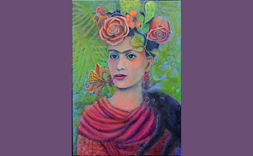 Frida im Frida-Malstil