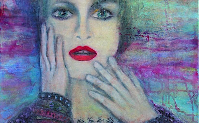 Madonna experimentell (Ausschnitt)